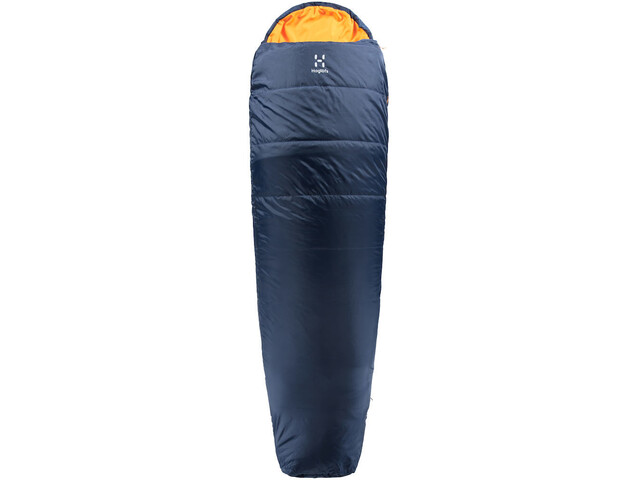 Haglöfs Tarius -5 Sleeping Bag 205cm midnight blue/tangerine